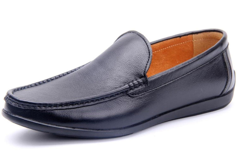 GTYMFH Herrenschuhe Schuhe Atmungsaktiv Hohl Freizeitschuhe Stiefel Fahr Schuhe Herrenschuhe Peas Schuhe schwarz 0091a4