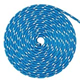 WindRider Ropes 3/8'' (10mm) Double Braid Line - Blue Fleck (160FT)