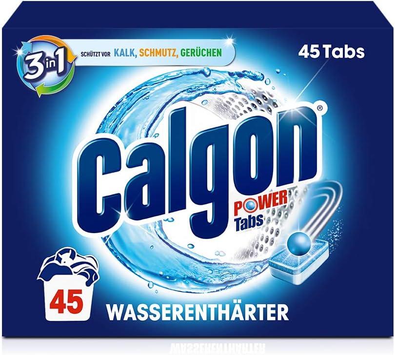 Calgon Tabs, descalcificador de agua contra la cal y la suciedad ...