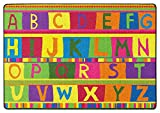 ABC Tapestry Kids Rugs Area Rug 4'x6'