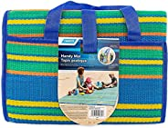 Camco Handy Mat with Strap, Perfect for Picnics, Beaches, RV and Outings, Weather-Proof and Mold/Mildew Resist