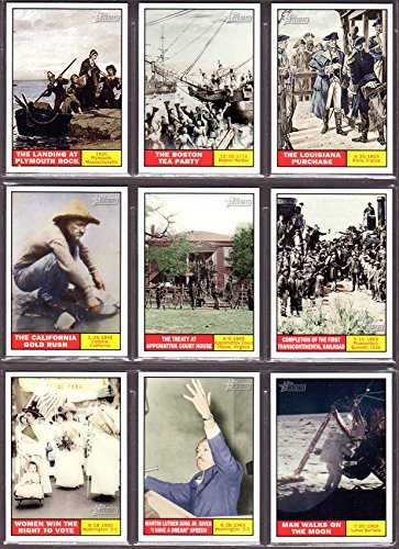Great American Events 2008/2009 Topps American Heritage (25) Card Sub Set***A Great Teaching Tool****