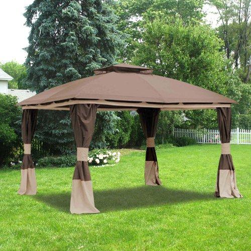 Garden Winds Benen Gazebo Replacement Canopy Riplock 350 Ebay
