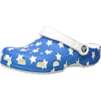 Crocs Kids' Classic American Flag Clog | 4th of July Shoes | Slip On Shoes