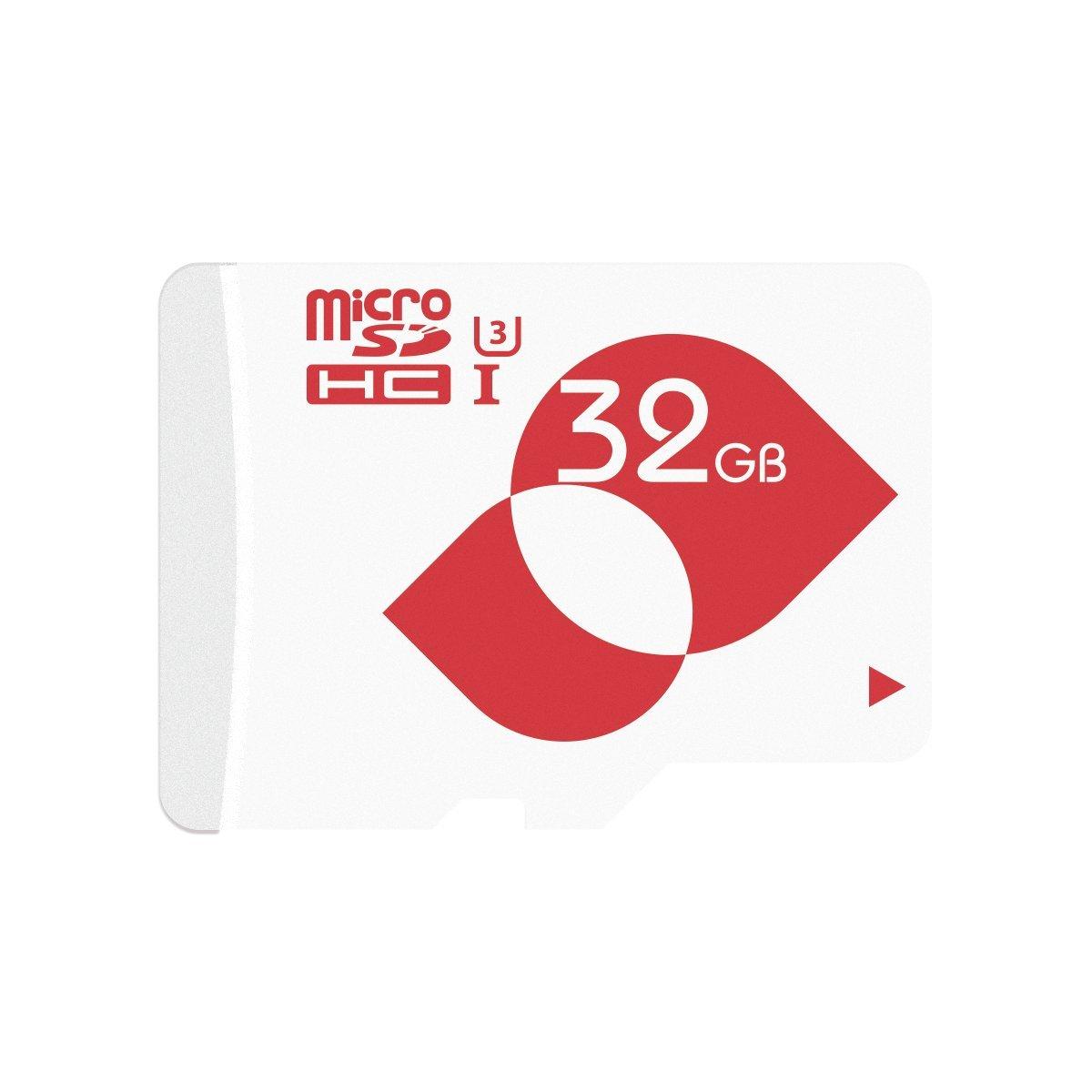 TALLA 32GB U3. MENGMI Tarjeta Micro SD Tarjeta de Memoria 32GB Class 10 U3 Micro SDHC 32GB con Adaptador SD para Captura de Video 4K en Drones Garantía de 10 años (32GB U3)
