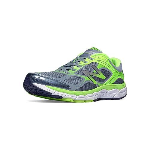 02285962b0b3a New Balance 860v6 Mens Stability Running Shoe 16 Grey-Hi-Lite ...