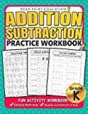 Best Kindergarten Workbooks - Addition Subtraction Practice Workbook .: Kindergarten books, Activity Review