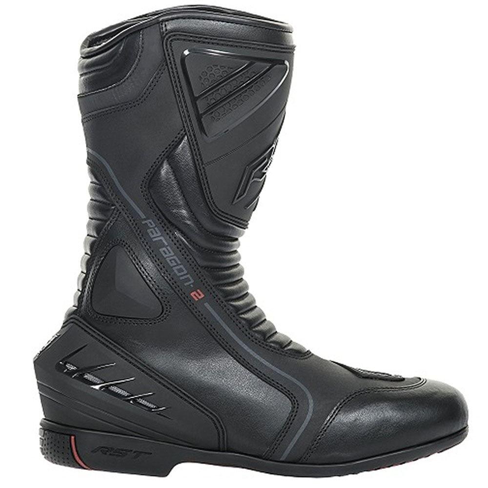 41, Marr/ón Botas de Moto Turismo Bela Junior Impermeable Aprobado CE