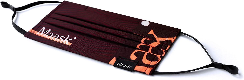 MAASK Shield MASCARILLA HIGIENICA Reutilizable, Adultos Unisex, Coral: Amazon.es: Deportes y aire libre