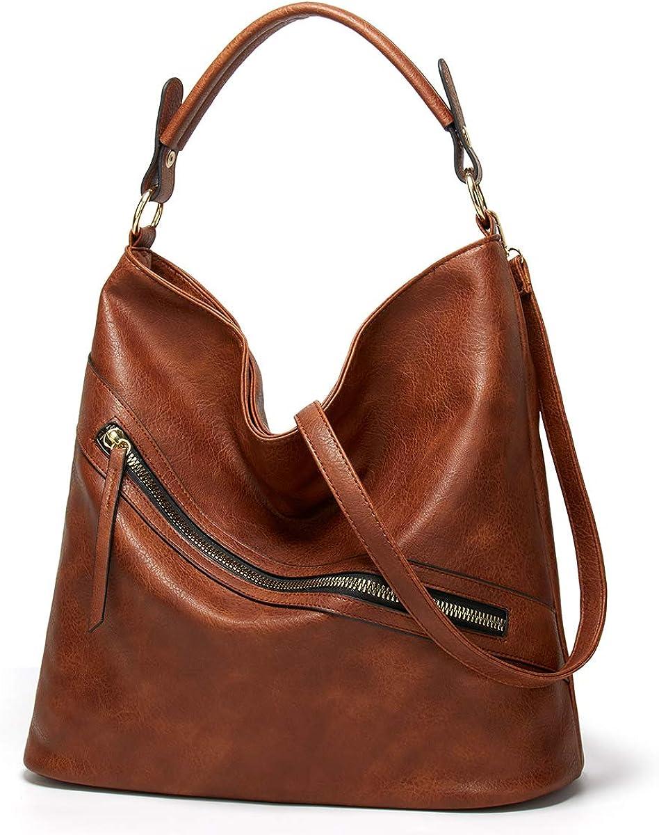 Large Hobo Bags for women Shoulder Bags Soft Vegan Leather Tote Handbags Purses tassel Work Bags Bucket Woman Satchel