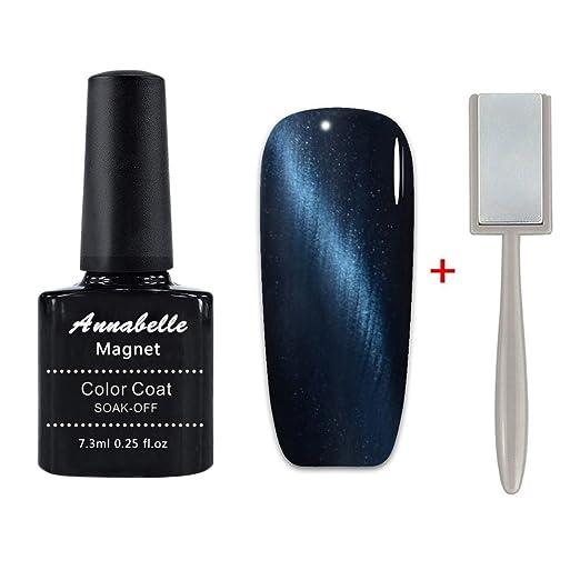 2 opinioni per Annabelle Smalto Semipermanente Magnetico Nail Polish UV LED Gel Unghie 7.3ml