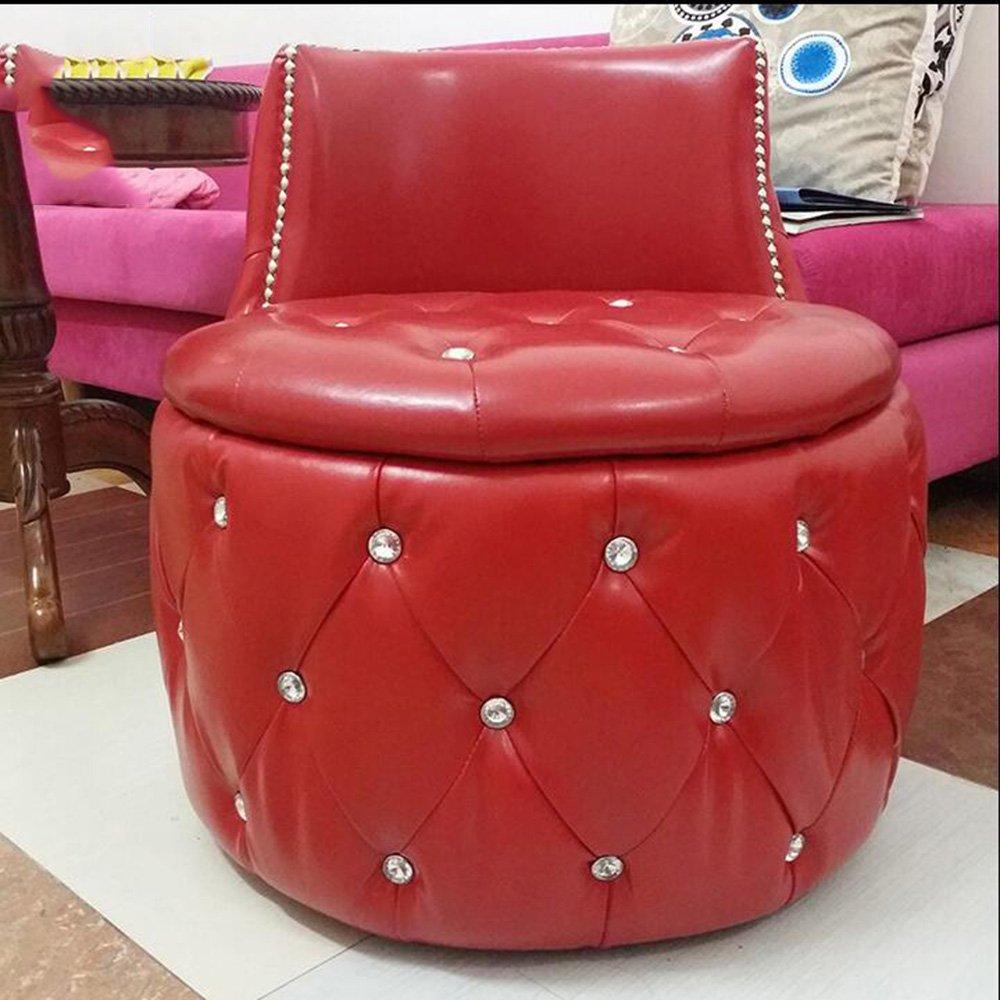Muebles Modernos CAICOLORFUL Taburete Redondo Cambio De ...
