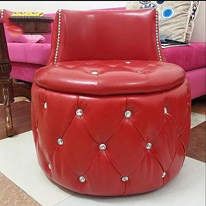 Muebles modernos CAICOLORFUL Taburete Redondo Cambio De Heces De ...