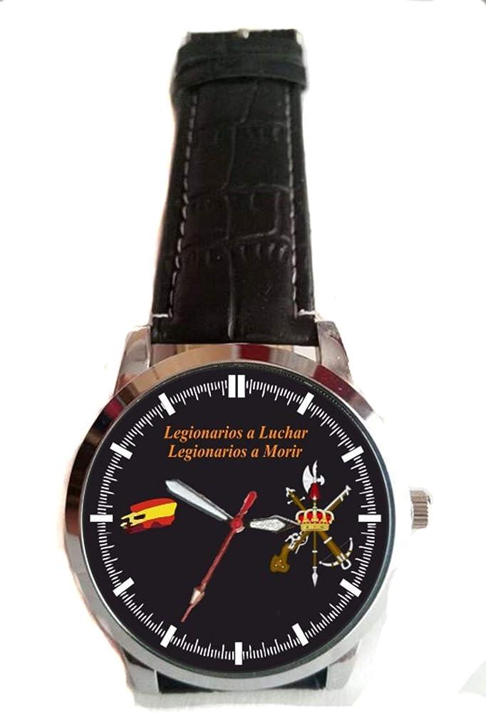 Reloj Personalizado con Escudo de la Legion Española: Amazon.es ...