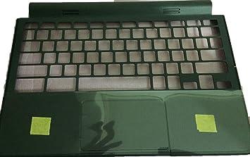 Reposamuñecas para ordenador portátil Dell Chromebook 11 3120 gris sin teclado sin panel táctil 38zm8tcwi00