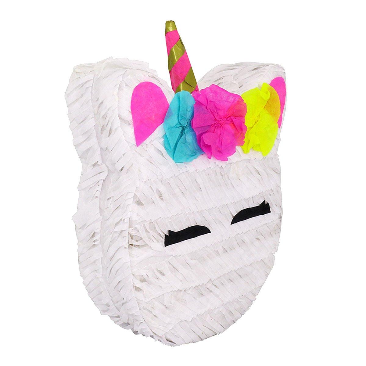 Amazon.com: LYTIO 3 Mini Unicorn Pinata (Piñata) Ideal for Parties, Center Piece or Photo Prop (3 Mini Unicorn): Kitchen & Dining