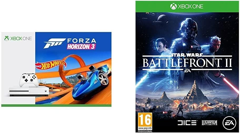Xbox One S - Consola 500 GB + Forza Horizon 3 + Hot Wheels + Star ...