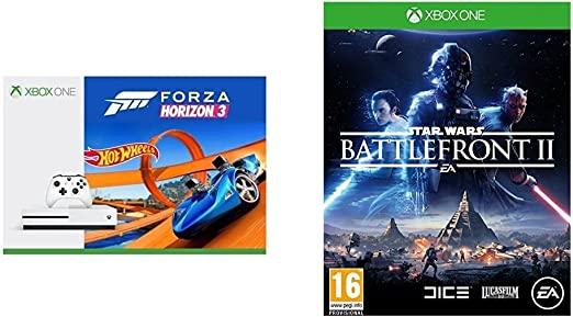 Xbox One S - Consola 500 GB + Forza Horizon 3 + Hot Wheels + Star ...