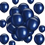 Hestya Navy Blue Balloons 100 Pack 10 Inch Party Balloons Navy Blue Latex Balloons for Weddings, Birthday Party, Bridal Shower, Party Decoration (Navy Blue, 10 Inch)