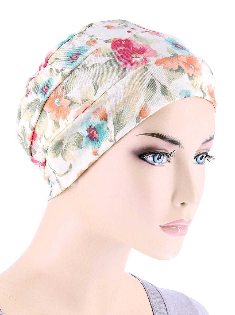 Chemo Cap Womens Soft Printed Beanie Sleep Turban Hat Headwear for ... 07835aaf28da