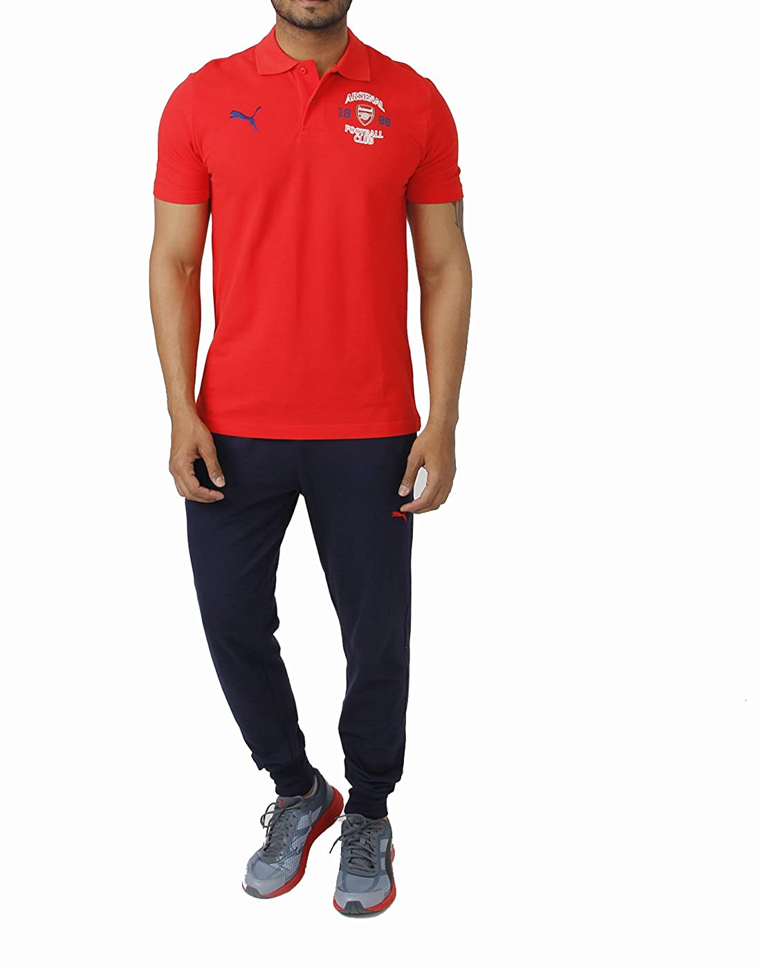 2014-2015 Arsenal Puma Fan Polo Shirt (Red): Amazon.es: Ropa y ...