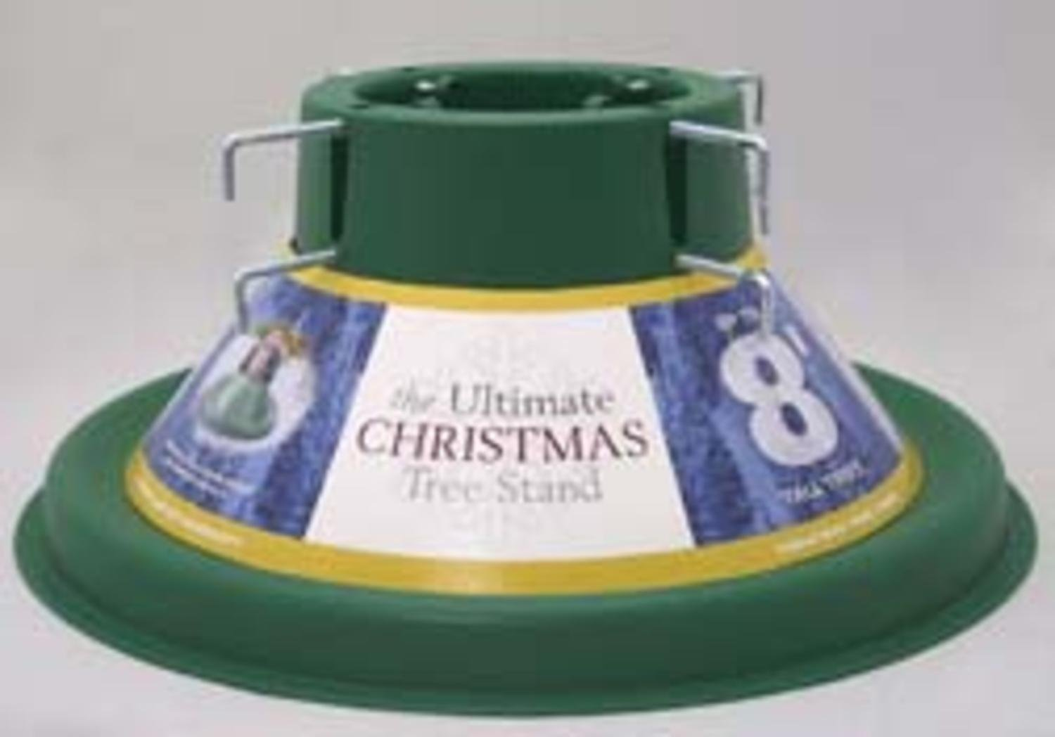 HMS Green Ultimate Christmas Tree Stand For 8 Foot Real Live Trees