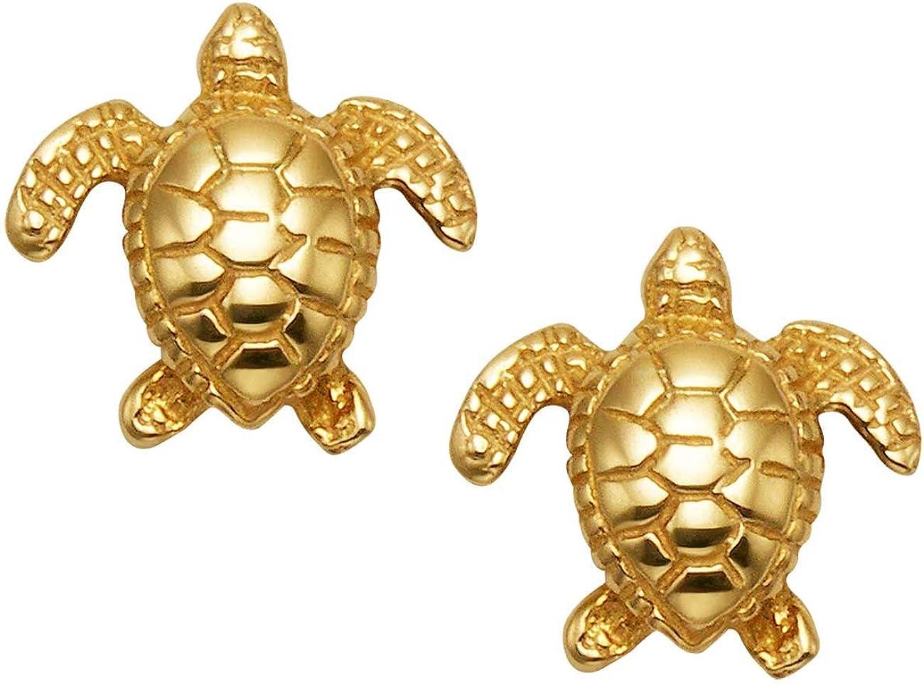 Tortoise and Turtle Dangle Earrings Style K