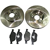 Transit Parts Transit 2.2 TDCI MK7 2006-2013 Front Brake Discs Pads 280 260 300 Fwd