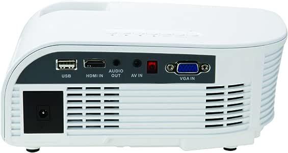 Amazon.com: Mini proyector con mando a distancia: Electronics