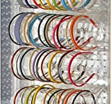 Count of 4, 11.75'' Wide Acrylic Headband Holder Display for Counter