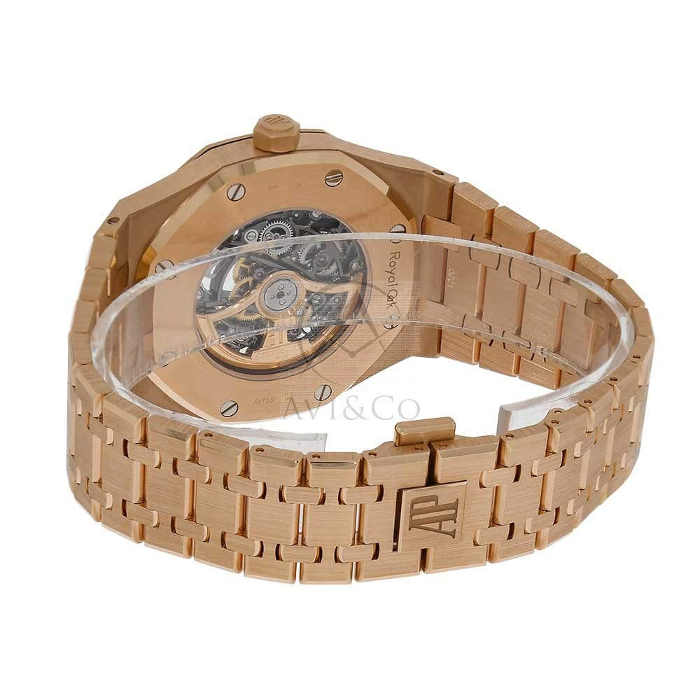 787336a60e9 Amazon.com: Audemars Piguet AP Royal Oak Double Balance Wheel Openworked Rose  Gold Watch 15407OR.OO.1220OR.01: Watches