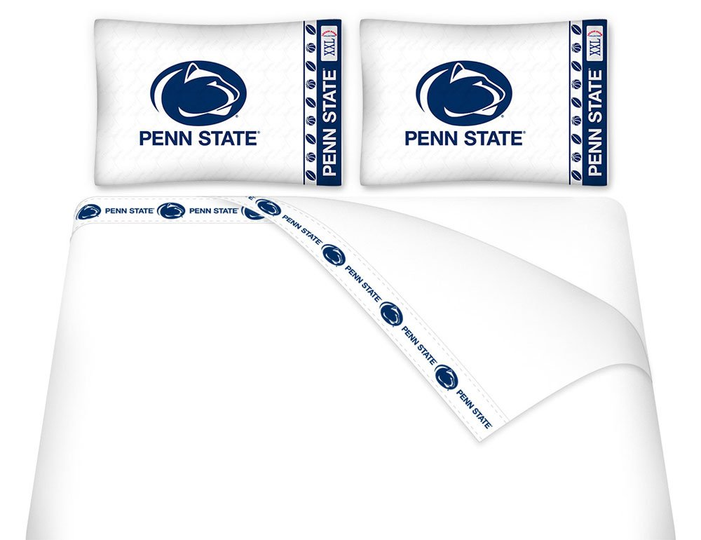 NCAA Penn State Nittany Lions - 5pc BED IN A BAG - Queen Bedding Set by NCAA (Image #1)