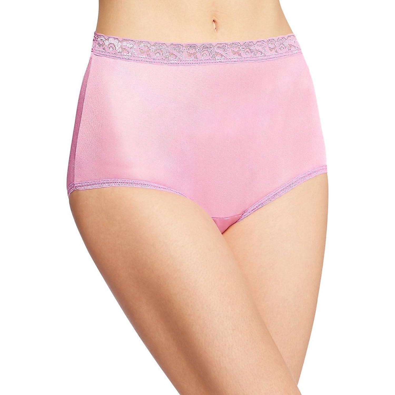 Hanes Womens Nylon Brief Panties 6-Pack PP70AS at Amazon Women's ...