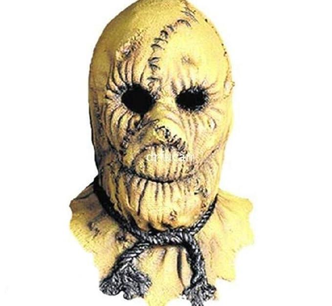 ... embrujada demonio fantasma máscara Sombrerería Protección del medio ambiente emulsión asesino espantapájaros máscara: Amazon.es: Deportes y aire libre