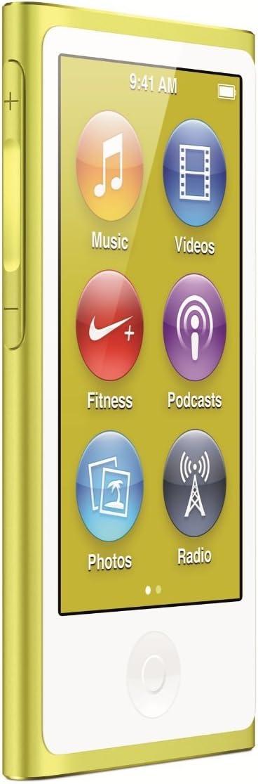 Apple iPod Nano 16GB Gold (7th Generation) (Certified Refurbished)