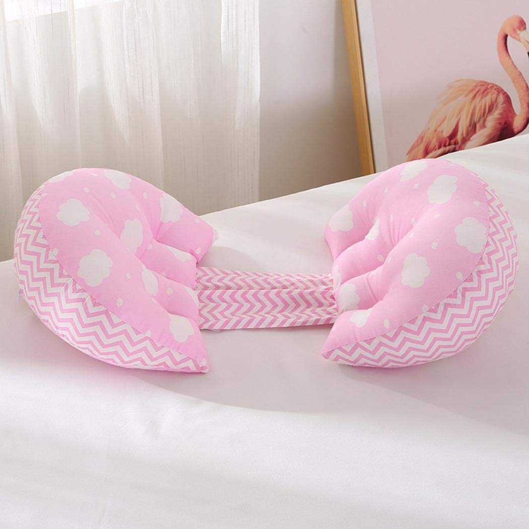 U-Shaped Maternity Cushion Batteraw Pregnancy Pillow Soft Waist Support