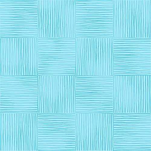 Stitch & Sparkle Fabrics, Watercolor Floral, Blue Stripe Cotton Fabrics, Quilt, Crafts, Sewing, Cut by The (Stripe Cotton Quilt Fabric)