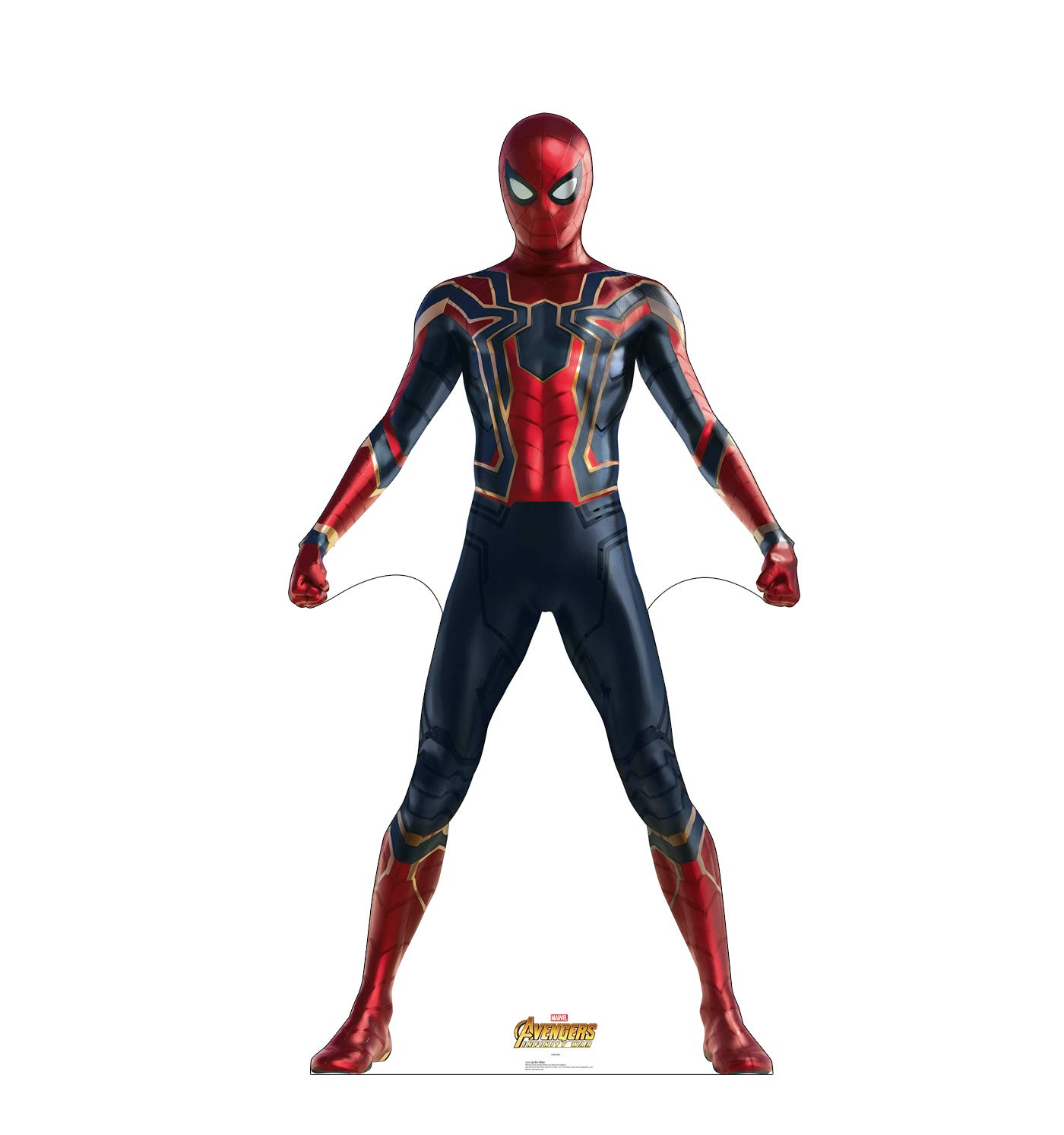 Advanced Graphics Spider-Man Life Size Cardboard Cutout Standup - Marvel's Avengers: Infinity War (2018 Film)