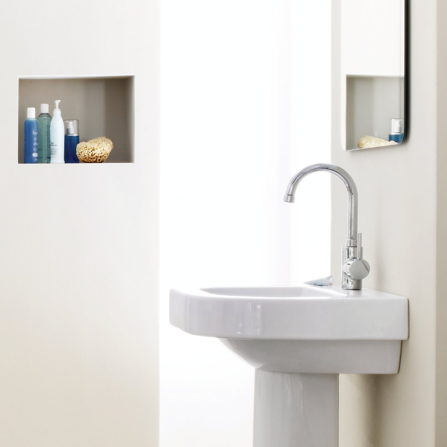 GROHE single-lever washbasin-mixer Concetto 32629 swivelling spout ...