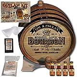 Personalized Outlaw Kit (Kentucky Bourbon Whiskey) ''MADE BY'' American Oak Barrel - Design 102: Barrel Aged Bourbon - 2018 Barrel Aged Series (3 Liter)