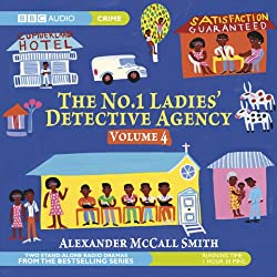 The No. 1 Ladies' Detective Agency 4: The Kalahari Typing School for Men & The Admirer (Dramatised)
