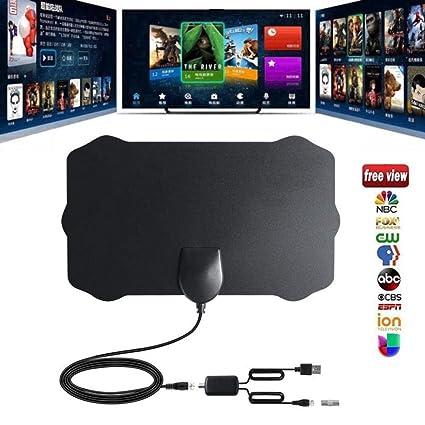 Amazoncom 120 Miles Antena 1080p Digital Hdtv Indoor Tv Antenna