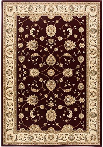 Feizy Rugs Indochine Collection Imported Area Rug, 2 x 3 4 , Cream