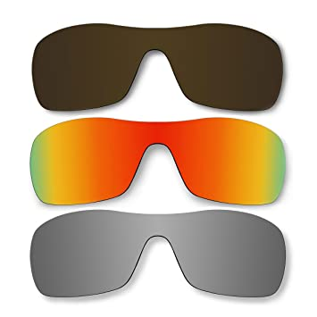 3 pares lentes polarizadas de recambio para Oakley Antix gafas de sol Pack P5