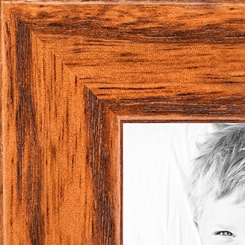 Honey Oak Frame - ArtToFrames 8x10 inch Honey on Red Oak Wood Picture Frame, WOM0066-1343-YHNY-8x10