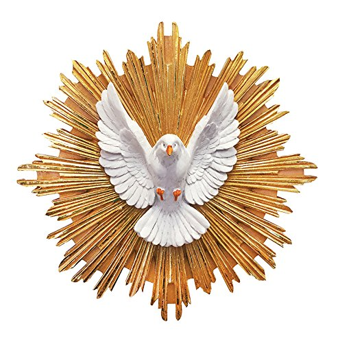 Divine Spirit Pendant Holy Spirit Sculpture Wall Mounted Divine Eagle(12 Inch)