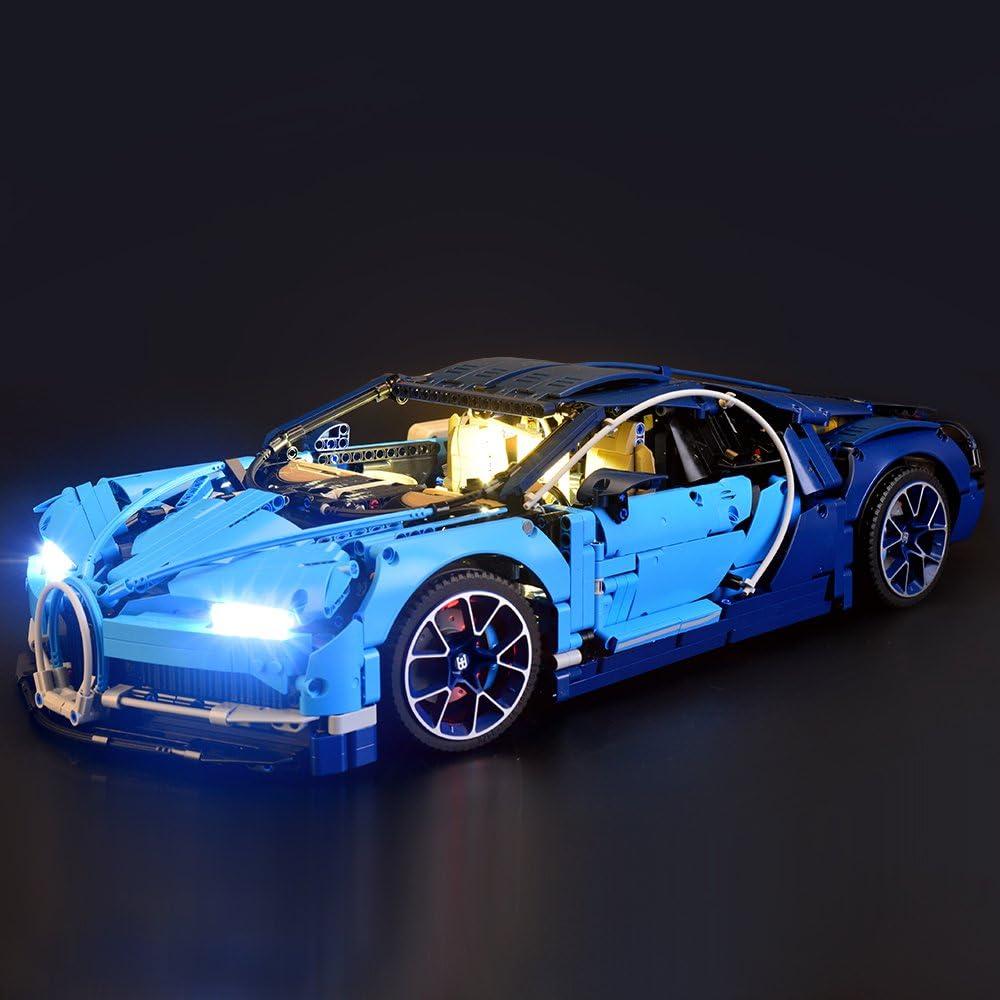 Kyglaring LED Light for LEGO 42096 Porsche Technic 911 RSR Beleuchtungs Kit