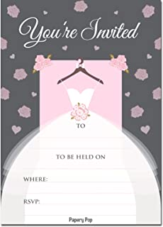 invitations with envelopes 15 count bridal shower invitations wedding shower invitations