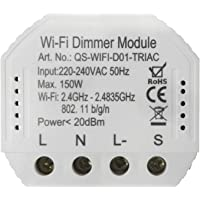 Tuya WiFi Intelligent Dimmer Switch Module Light Control Intelligent home Compatible with Alexa Google home
