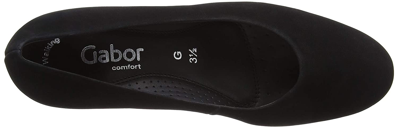 Gabor Gabor Gabor Damen Comfort Fashion Pumps Schwarz (Schwarz 47) aa2382